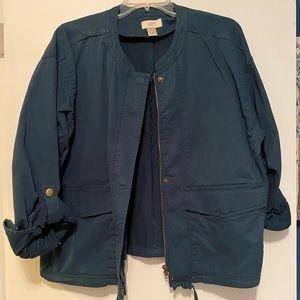 Loft Utility Jacket (XL- Teal)